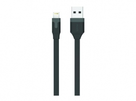 CABLE CARGADOR USB-LIGHTNING APPLE MFI 2,4A 1M
