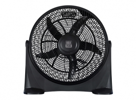 VENTILADOR BOX FAN Ø50CM 80W ORIENTABLE 60º