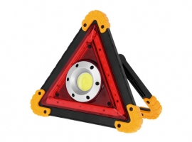 LINTERNA LED PORTATIL COB RECARGABLE TRIANGULO