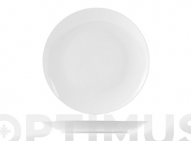 PLATO PORCELANA SWEDEN COUPE  BLANCO