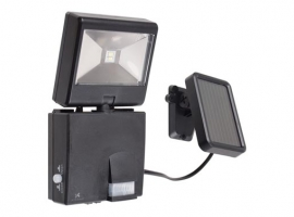 KIT SOLAR + PROYECTOR LED C/DETECTOR MOVIMIENTO.