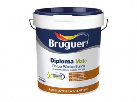 PINTURA PLASTICA EXTERIOR DIPLOMA BLANCO MATE