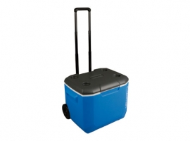 NEVERA RIGIDA CON RUEDAS 60QT BLACK & BLUE