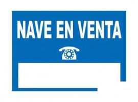 CARTEL NAVE EN VENTA'