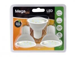 LAMPARA LED DICROICA 230LM (3UNI)