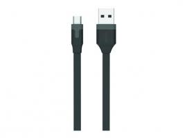 CABLE CARGADOR USB-MICRO USB 2,4A 1M