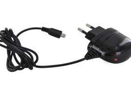 CARGADOR/TRANSFORMADOR MICRO USB 2,1A