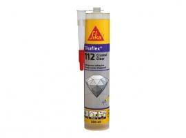 MASILLA SIKAFLEX 112 CRYSTAL CLEAR C47/12