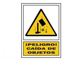 SEÑAL CAIDA OBJETOS PVC
