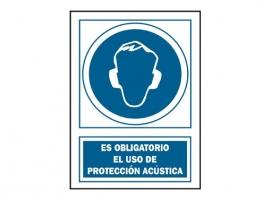 SEÑAL PROTEC ACUST OBLIGAT PVC