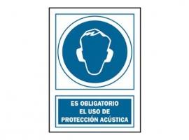 SEÑAL PROTECCION ACUSTICA OBLIGATORIA PVC