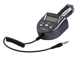 ADAPTADOR TRANSMISOR COCHE MP3