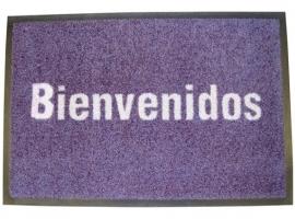 ALFOMBRA BIENVENIDOS 50X75