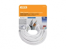 CABLE COAXIAL TV 19VAT-BLANCO