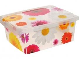CAJA FASHION BOX PINK FLOWERS