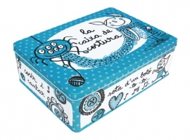 CAJA METAL 27X20X9 COSTURA ROOM