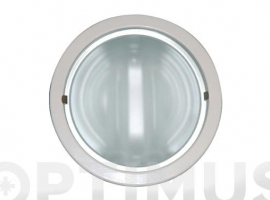 DOWNLIGHT RED 2X15 W  + BOMBILLA 2 UDS