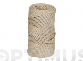 HILO SISAL TORCIDO 3/4 A 3 CABOS Ø 3,5 MM