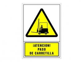 SEÑAL ADVERTENCIA CASTELLANO