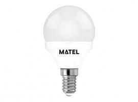 LAMPARA ESFERICA LED AL + PC
