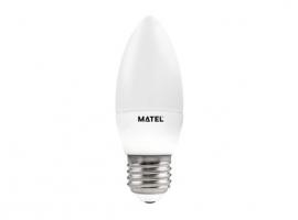 LAMPARA VELA LED AL + PC