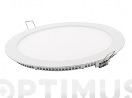 DOWNLIGHT LED EMPOTRAR BLANCO REDONDO 18 W