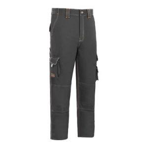 PANTALON STRETCH TRIPLE COSTURA L9000 GRIS