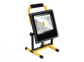 FOCO PROYECTOR LED RECARGABLE CON SOPORTE 20 W
