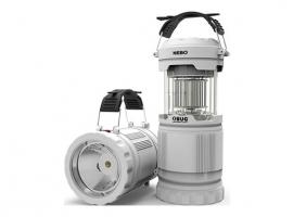 LAMPARA CAMPING CON LUZ ANTIMOSQUITOS