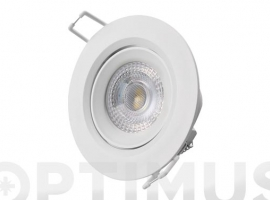 DOWNLIGHT LED DE EMPOTRAR Ø7,4CM 380LM