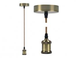 LAMPARA COLGANTE Ø9,84 X 4,4 CM + 88CM DE CABLE