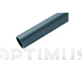 TUBO FLEXIBLE EVACUACION PVC GRIS  Ø 40 MM