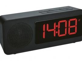 RELOJ DESPERTADOR CON RADIO