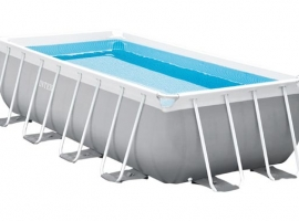 PISCINA DESMONTABLE RECTANGUAR TUBULAR PRIS FRAME