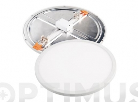 DOWNLIGHT LED AJUSTABLE BLANCO REDONDO 18 W