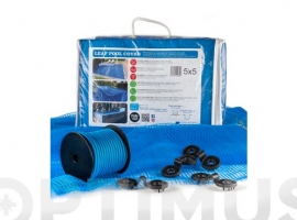 CUBIERTA MALLA PARA PISCINA LEAF POOL COVER