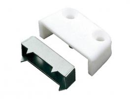 TORNILLO ENSAMBLAJE MODELO 1 ACERO/PLASTICO BLANCO