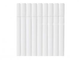 CAÑIZO SINTETICO PVC PLASTICANE OVAL BLANCO
