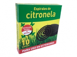 ESPIRAL ANTIMOSQUITOS CITRONELA