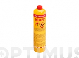 CARTUCHO GAS CON VALVULA 750 ML