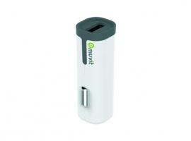 CARGADOR/TRANSFORMADOR AUTO USB 2,4A