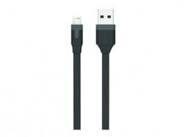 CABLE CARGADOR USB-LIGHTNING APPLE MFI 2,4A 1M