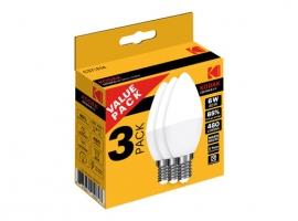 LAMPARA VELA LED C37 (PACK 3 UNIDADES)