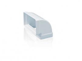 CODO RECTANGULAR VERTICAL 90º TUBO EXTRACCION PVC