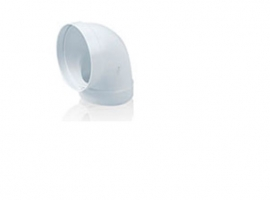 CODO REDONDO 90º TUBO EXTRACCION PVC