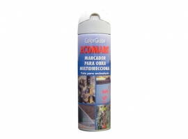 MARCADOR FLUORESCENTE SPRAY ECOMARK BLANCO
