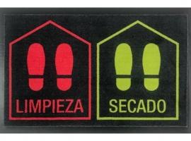 FELPUDO DESINFECTANTE LIMPIA/SECA