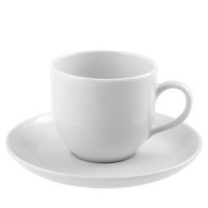 TAZA CAFE CON PLATO PORCELANA