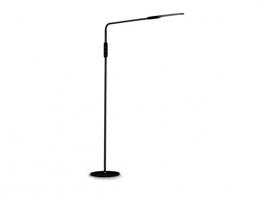 LAMPARA PIE FLEXIBLE LED 9W NEGRA